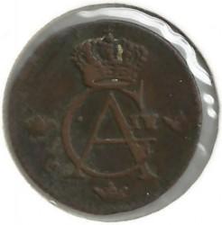 Монета > 1/12скилинг, 1802-1808 - Швеция  - obverse