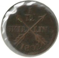 Монета > 1/12скилинг, 1802-1808 - Швеция  - reverse