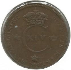 سکه > 1اسکیلینگ, 1819-1830 - سوئد  - obverse