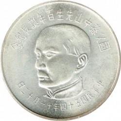 Mynt > 50dollars, 1965 - Taiwan  (100th Anniversary of Sun Yat-sen) - obverse