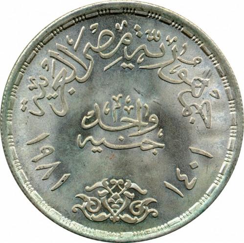 1 Pfund 1981 Fao ägypten Münzen Wert Ucoinnet