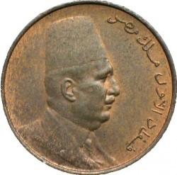 Монета > ½мілліма, 1924 - Єгипет  - obverse
