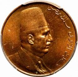 Minca > 1millieme, 1924 - Egypt  - obverse