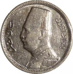 Monēta > 2piastri, 1929 - Ēģipte  - obverse