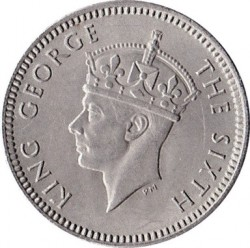 Coin > 3pence, 1948-1952 - Southern Rhodesia  - obverse