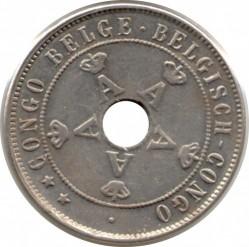 Moneta > 20centesimi, 1910-1911 - Congo belga  - obverse
