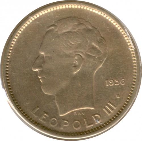 5 Franken 1936 1937 Belgisch Kongo Münzen Wert Ucoinnet