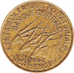 Coin > 25francs, 1962 - Equatorial African States  - obverse
