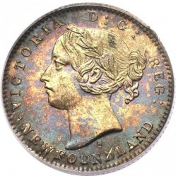 Coin > 10cents, 1865-1896 - Newfoundland  - obverse