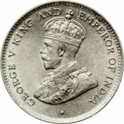 Монета > 25цента, 1911-1917 - Цейлон  - obverse