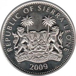 Moneta > 1dollaro, 2009 - Sierra Leone  (Scimmie - Scimmia cappuccina ) - obverse