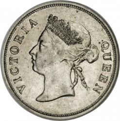 Moneta > 50centesimi, 1886-1901 - Insediamenti dello Stretto  - obverse