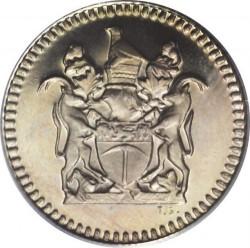 Кованица > 5центи, 1973 - Родезија  - obverse