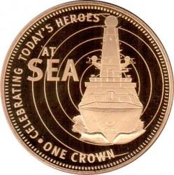 Moneta > 1korona, 2011 - Tristan da Cunha  (Dzisiejsi bohaterowie - Na morzu) - reverse