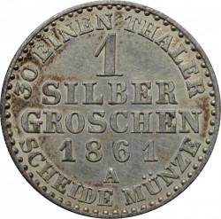 Moneda > 1groschendeplata, 1861-1873 - Prusia  - reverse