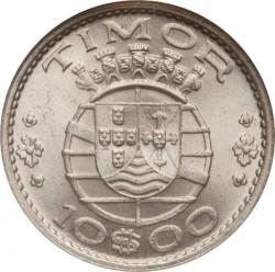 Moneta > 10escudo, 1964 - Timor Portugalski  - obverse