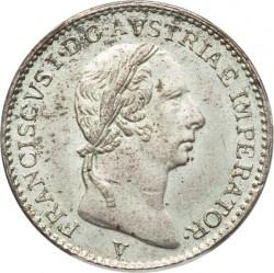 Moneta > ¼liros, 1822-1824 - Lombardija-Venecija  - obverse