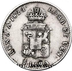 Münze > ½Lire, 1822-1824 - Lombardo-Venetien  - reverse
