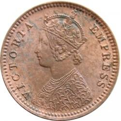 Moneta > 1/12anos, 1877-1901 - Indija - Britų  - obverse