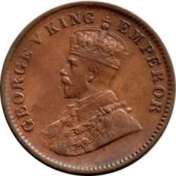 Moneta > ¼anos, 1911 - Indija - Britų  - obverse