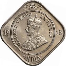 Moneta > 2anos, 1918-1936 - Indija - Britų  - obverse