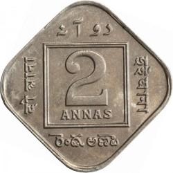 Moneta > 2anos, 1918-1936 - Indija - Britų  - reverse