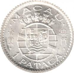 Moneta > 1pataca, 1952 - Makau  - obverse