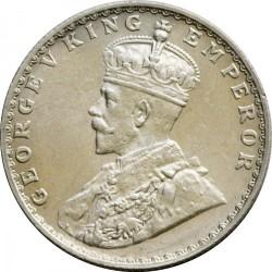 Coin > ½rupee, 1912-1936 - India - British  - obverse