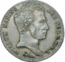 Moneta > 1fiorino, 1839-1840 - Indie Olandesi Orientali  - obverse
