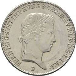 Монета > 10крейцеров, 1837-1848 - Венгрия  - obverse