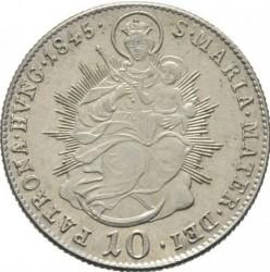 Монета > 10крейцеров, 1837-1848 - Венгрия  - reverse