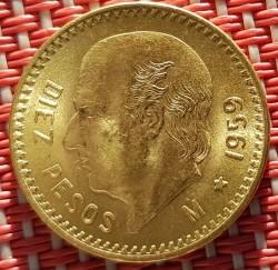מטבע > 10פסו, 1905-1959 - מקסיקו  - reverse