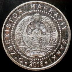 מטבע > 500סום, 2018 - אוזבקיסטן  - obverse