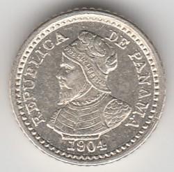 Mynt > 2½centésimos, 1904 - Panama  - obverse