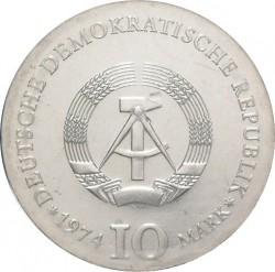 10 Mark 1974 Caspar David Friedrich Deutschland Ddr Münzen