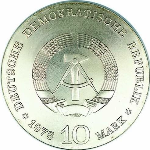 10 Mark 1975 Albert Schweitzer Deutschland Ddr Münzen Wert