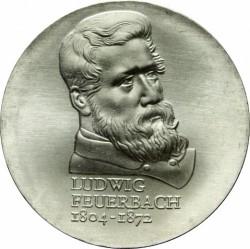 Moneda > 10marcos, 1979 - Alemania - RDA  (175º Aniversario - Nacimiento de Ludwig Feuerbach) - reverse