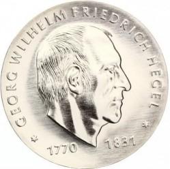 Moneda > 10marcos, 1981 - Alemania - RDA  (150º Aniversario - Muerte de Georg Wilhelm Friedrich Hegel) - obverse