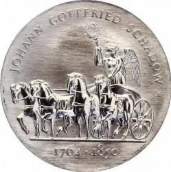 Moneda > 10marcos, 1989 - Alemania - RDA  (225º Aniversario - Nacimiento de Johann Gottfried Schadow) - reverse
