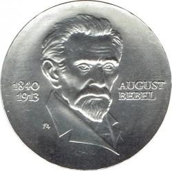 Moneda > 20marcos, 1973 - Alemania - RDA  (60º Aniversario - Muerte de August Bebel) - reverse