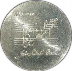 Moneda > 20marcos, 1975 - Alemania - RDA  (225º Aniversario - Muerte de Johann Sebastian Bach) - reverse