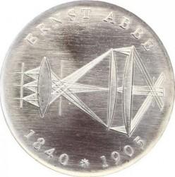 Moneda > 20marcos, 1980 - Alemania - RDA  (75º Aniversario - Muerte de Ernst Karl Abbe) - reverse