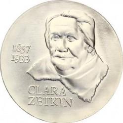 Monēta > 20marku, 1982 - Vācija - VDR  (125th Anniversary - Birth of Clara Zetkin) - reverse
