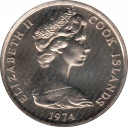 Moneta > 10centesimi, 1972-1983 - Cook (Isole)  - obverse