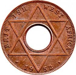 Moneda > 1/10penic, 1952 - Àfrica Occidental Britànica  - reverse