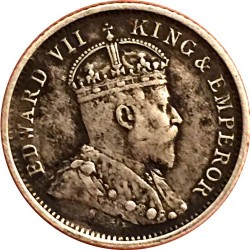 Moneda > 4pence, 1903-1910 - Guaiana britànica  - obverse