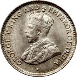 Moneta > 4pence, 1917-1936 - Guyana Britannica  - obverse