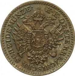 Монета > ¼кройцер, 1851 - Австрия  - obverse
