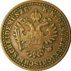 Coin > 2kreuzer, 1851 - Austria  - obverse