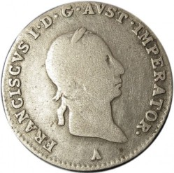 Moneda > 3kreuzer, 1825-1830 - Àustria  - obverse